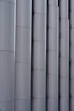 Abstrakcjonistyczny Aluminiowy Geometryczny tło Graficzna abstrakcja Zdjęcie Royalty Free