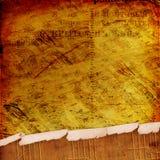 abstrakcjonistyczny antyczny tło pisze list notatki Obraz Stock