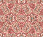 Abstrakcjonistyczny arabeskowy ornamentacyjny tło Zdjęcie Stock