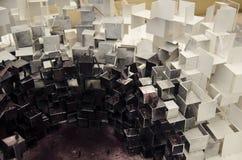 Abstrakcjonistyczny architektoniczny model miasto w Chiny Fotografia Stock