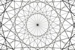 Abstrakcjonistyczny architektoniczny sztuka kawałek zdjęcie stock