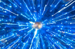 abstrakcjonistyczny atom Zdjęcia Stock