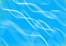Abstrakcjonistyczny błękit Fotografia Royalty Free