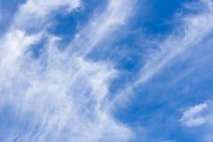 abstrakcjonistyczny błękit chmurnieje niebo Zdjęcie Royalty Free