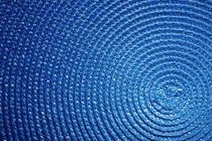 Abstrakcjonistyczny błękit fryzujący tekstury zakończenie up Obrazy Stock