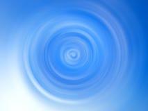 Abstrakcjonistyczny błękit kropli tło Fotografia Royalty Free