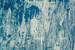 Abstrakcjonistyczny błękit malująca tekstura Obraz Royalty Free