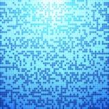 Abstrakcjonistyczny błękit płytki tło royalty ilustracja