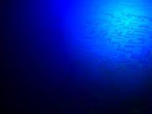 abstrakcjonistyczny błękit pustyni światło nad nauką Zdjęcie Royalty Free