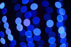 Abstrakcjonistyczny błękit zaświeca tło Obrazy Royalty Free