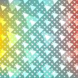 Abstrakcjonistyczny błękita światła szablonu tło royalty ilustracja