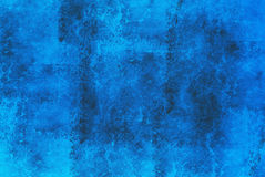 Abstrakcjonistyczny błękita marmuru tło Obrazy Stock