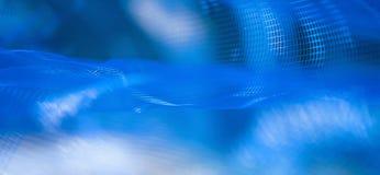 Abstrakcjonistyczny błękita ogródu webbing Zdjęcie Stock