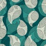 Abstrakcjonistyczny błękita wzór. Wektorowy tło Obrazy Stock