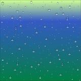 Abstrakcjonistyczny błękita, zieleni i koloru żółtego gradientowy tło z jasnym w, ilustracji