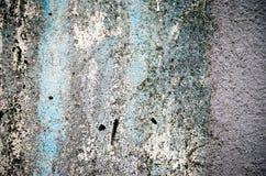 Abstrakcjonistyczny błękitnego, białego cementu ściany tło i Obraz Stock