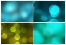 Abstrakcjonistyczny błękitnej zieleni tło ilustracja wektor