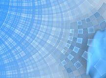 abstrakcjonistyczny błękitny boxy Obraz Stock