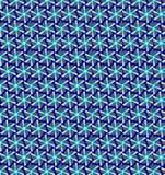 Abstrakcjonistyczny błękitny czarny i biały koloru wzoru tło Obraz Royalty Free