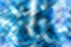 Abstrakcjonistyczny błękitny geometryczny tło Fotografia Stock