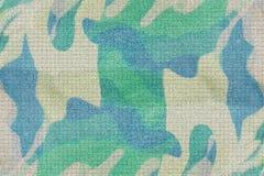 Abstrakcjonistyczny błękitny i zielony kamuflażu tło obrazy royalty free