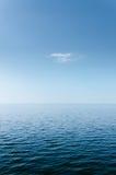 Abstrakcjonistyczny Błękitny morze i niebo zdjęcia royalty free