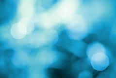 Abstrakcjonistyczny błękitny naturalny backgound Obrazy Royalty Free