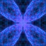 Abstrakcjonistyczny błękitny nowożytny druciany tła 3d rendering Zdjęcie Royalty Free