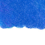 Abstrakcjonistyczny błękitny pastelowy kredkowy tło Obraz Stock