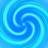 Abstrakcjonistyczny błękitny skręta tło ilustracji