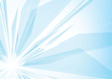 Abstrakcjonistyczny błękitny tło Zdjęcia Stock