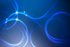 abstrakcjonistyczny błękitny tło  Obrazy Stock