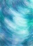 Abstrakcjonistyczny błękitny tło inspirujący nawadnia Obraz Stock