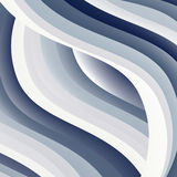 Abstrakcjonistyczny Błękitny tło Jaskrawe niebieskie linie Zdjęcia Royalty Free
