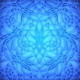 Abstrakcjonistyczny błękitny tło. Fotografia Royalty Free