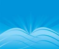 Abstrakcjonistyczny Błękitny tło wektor Zdjęcie Royalty Free