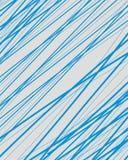 Abstrakcjonistyczny błękitny technologii linii wzoru tło Fotografia Stock