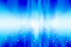Abstrakcjonistyczny błękitny technologii tło. Obraz Royalty Free