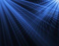 Abstrakcjonistyczny błękitny technologii tło Obraz Royalty Free