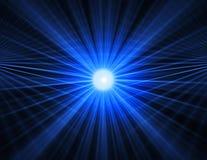 Abstrakcjonistyczny błękitny technologii tło Zdjęcie Royalty Free