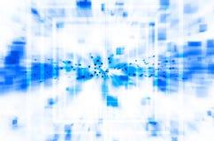 Abstrakcjonistyczny błękitny technologii tło Fotografia Royalty Free