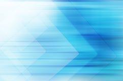 Abstrakcjonistyczny błękitny technologii tło. Zdjęcie Stock