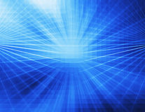 Abstrakcjonistyczny błękitny technologii tło Zdjęcia Royalty Free