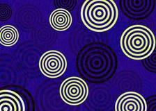Abstrakcjonistyczny błękitny wizerunek ilustracji