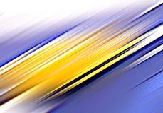 abstrakcjonistyczny błękitny złoto ilustracji