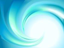 abstrakcjonistyczny błękitny zawijas Obrazy Stock