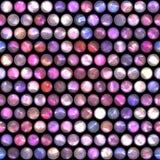 Abstrakcjonistyczny błyskotliwości kropki wzoru bezszwowy tło. Obrazy Royalty Free