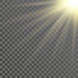 Abstrakcjonistyczny błyszczący światło ilustracja wektor
