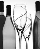 abstrakcjonistyczny b tła w wino Fotografia Stock