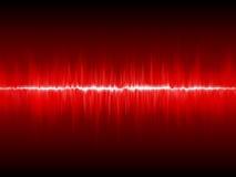 Abstrakcjonistyczny błyskawicowy waveform Zdjęcie Royalty Free